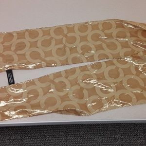 Gold Coach scarf